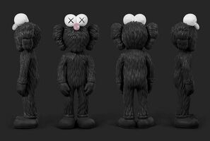 KAWS, 'BFF (Open Edition) BLACK', 2017