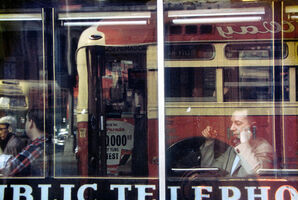 Saul Leiter, 'Phone call', 1957