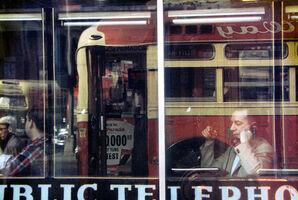 Saul Leiter, 'Phone call', 1957