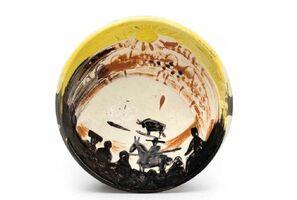 Pablo Picasso, 'Madoura Ceramic Bowl - Scène de tauromachie Ramié 241', 1950-1959
