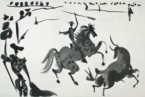 Pablo Picasso, 'Alceando a un Toro', 1959