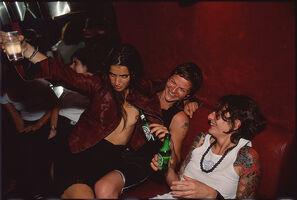 Nan Goldin, 'Valérie, Axelle and Joanna at Pulp , Paris', 1999