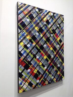 Ed Moses: Last Grids, installation view