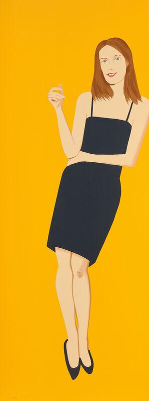 Alex Katz, 'Sharon, from Black Dress Series', 2015, Print, Screenprint in colors, on wove paper, the full sheet., Phillips