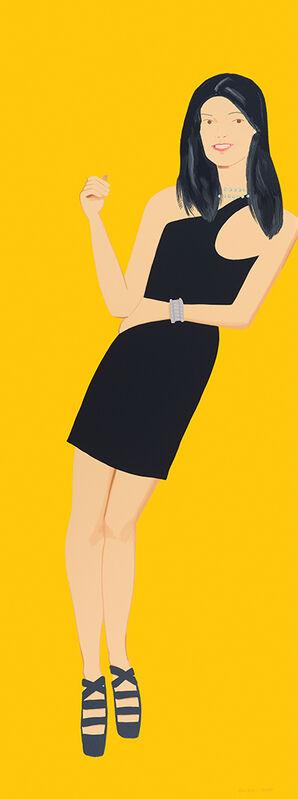 Alex Katz, 'Black Dress I, Yi (series)', 2015, Print, Screenprint, Nikola Rukaj Gallery