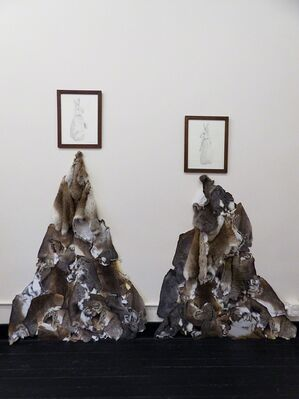The Veil, installation view