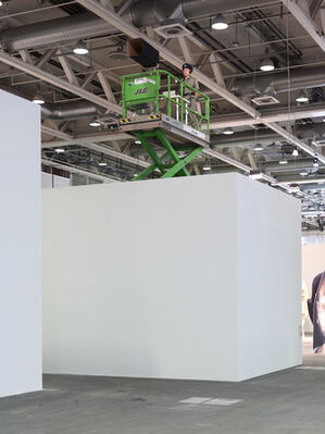 Team Gallery at Art Basel Unlimited 2016, installation view