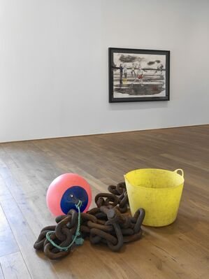 Charles Avery: The People and Things of Onomatopoeia, installation view