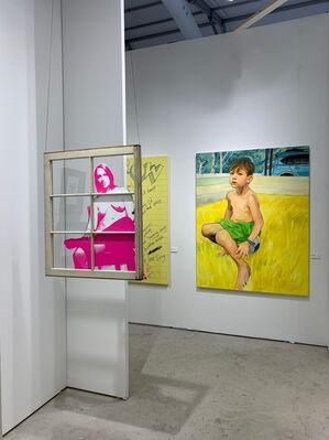 Hexton Gallery at Art Miami 2019, installation view