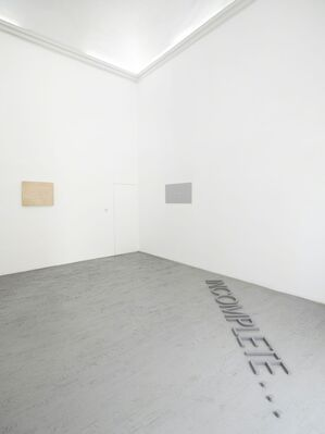 Robert Barry, installation view
