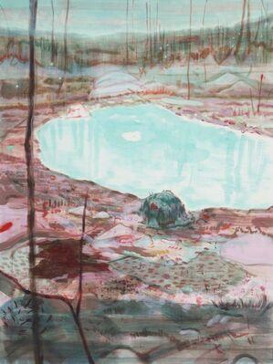 """Yuka Kashihara """"Sky-Eye Weaver"""", installation view"""
