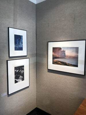 FIRE & WATER, installation view