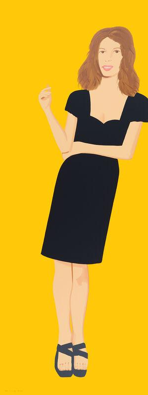 Alex Katz, 'Black Dress 2 (Cecily)', 2015, Print, Silkscreen in 24 colors, Mary Ryan Gallery, Inc