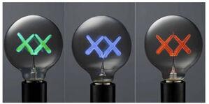 KAWS X Standard Hotels. Bulb Set