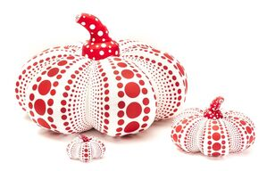 Soft Pumpkins, Red and White