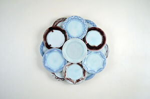 Untitled in Blue, White, and Red