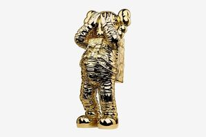 Holiday Space figure gold