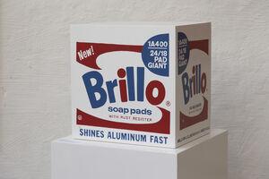 Andy Warhol, 'Brillo Box - Stockholm / Malmö type 1968/1990'