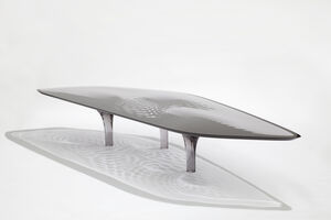 Zaha Hadid, 'Coffee Table 'Liquid Glacial' Colour', 2012
