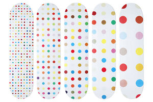 Damien Hirst, 'Set of Five Supreme Skateboards', 2009