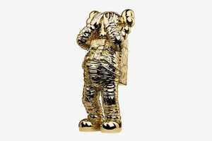 KAWS, 'Holiday Space figure gold', 2020