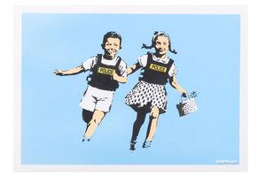 Banksy, 'Jack & Jill (Police Kids)', 2005