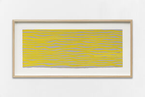Sol LeWitt, 'Horizontal Brushstrokes', 2003