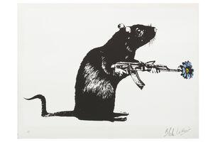 Blek le Rat, 'The Warrior', 2016