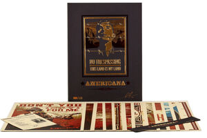 Shepard Fairey (OBEY), ''Americana' Box Set', 2012
