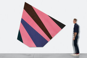 Kenneth Noland, 'Determined Course', 1976