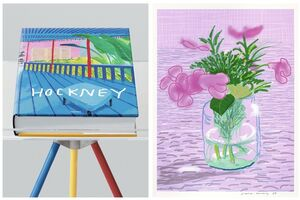 David Hockney, 'A Bigger Book + A print', 2016