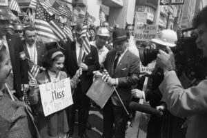 Garry Winogrand, 'Hard-Hat Rally, New York', 1970