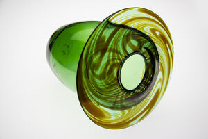 Dale Chihuly, 'Green Vase 74', 1974