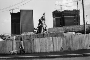 Henri Cartier-Bresson, 'La Defense, Paris, France',  1972
