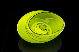 Dale Chihuly, 'Vienna Green Basket', 2008
