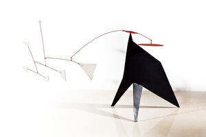 Alexander Calder, 'Man with Short Neck', 1962