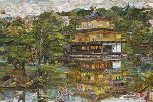 Vik Muniz, 'The Golden Temple', 2015