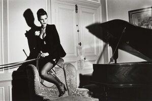 Helmut Newton, 'Saddle II, Paris 1976', 1976