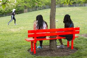 Jeppe Hein, 'Modified Social Bench NY #9', 2015