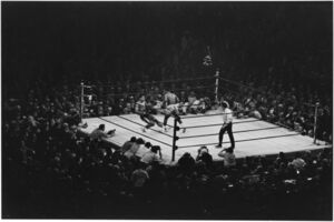 Elliott Erwitt, 'NYC. 1971. Muhammad Ali vs. Joe Frazier.', 1971