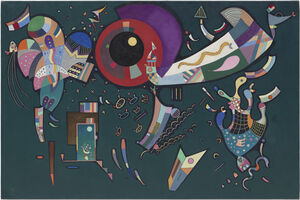 Wassily Kandinsky, 'Around the circle (Autour du cercle)', 1940