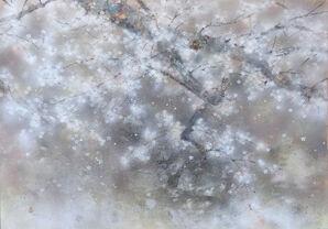 Pluie du cerisier