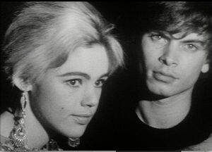 Andy Warhol, Screen Test of Edie Sedgewick and Kipp Stagg, 1966