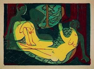 Drei Akte im Walde (Three Nudes in the Forest)