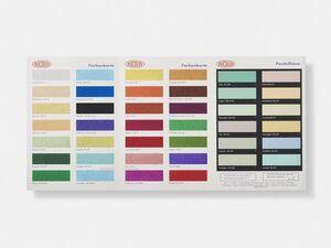 H3 Colour Chart (Glitter)
