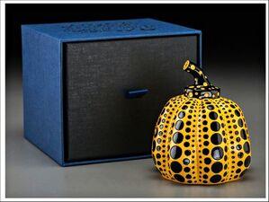 Yellow Pumpkin (Artist Designed & Authorized Naoshima Edition) in artist designed gift box