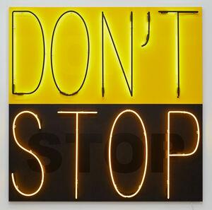 Don't Stop 1  (Yellow/Black)