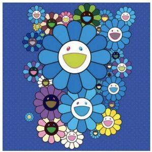 FLOWERS BLUE VELVET