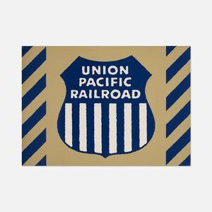 Union Pacific Railraod, Unique Panel from the Union Train Station Installation in Hartford, Conn., 1987