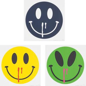 Cosmic Overdose; Happiness Overdose (Yellow); and Happiness Overdose (Azul Mariano)
